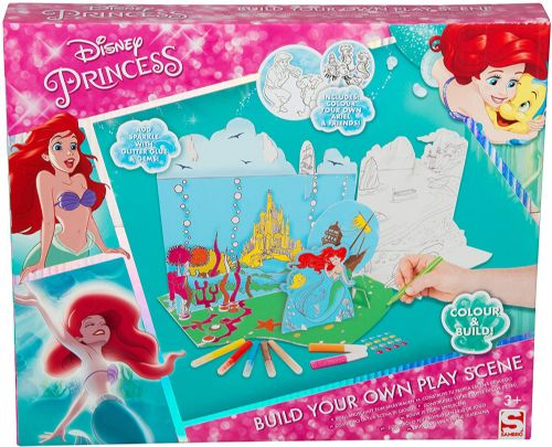 Disney Princess: Build your own play Scene.